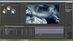 How to create 3D clouds | After Effects CS6 Tutorial