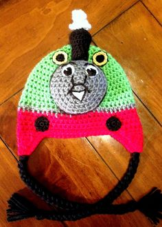 Percy the Small Engine Inspired  Hat.