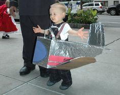 Airplane costume @ holly helpi  sc 1 st  Pinterest & Toddler Airplane Costume | Pottery Barn Kids | Costumes | Pinterest ...