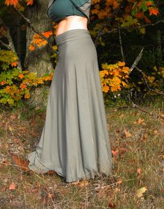Full Length Wrap Skirt Soy or Bamboo by VioletStarCreations, $80.00