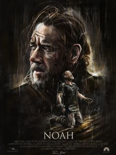 Noah - Tribute Poster by Robert Bruno, via Behance