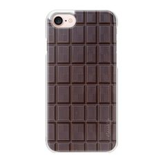 Chocolate - iPhone 7 Case And Cover (€31) ❤ liked on Polyvore featuring accessories, tech accessories, iphone case, slim iphone case, iphone cases, iphone cover case and apple iphone case