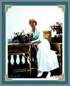 Rare picture of Olga Nikolaevna