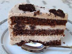 μικρή κουζίνα: Εύκολη τούρτα παγωτό Cookbook Recipes, Dessert Recipes, Cooking Recipes, Greek Desserts, Icebox Cake, Food Styling, Tiramisu, Frozen, Ice Cream