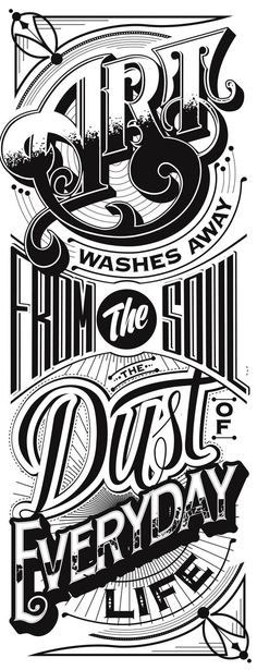 Typography Mania #204 | Abduzeedo Design Inspiration#tipografia #vintage #tipografiavitage #vicente #typhography #HV