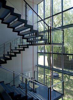 Stairwell design by Arne Jacobsen