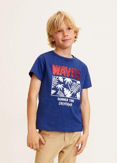 Printed reversible sequins t-shirt - Boys Girls Tees, Boys T Shirts, Fashion Kids, Fabric Print Design, Kid United, Skirts For Kids, Justice Clothing, Boy Models, Summer Boy