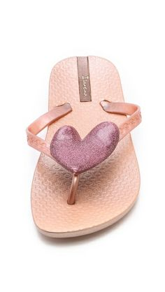 It may feel like -40 but I'm dreaming about summer time! Ipanema Neo Love Flip Flops