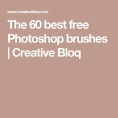 The 60 best free Photoshop brushes | Creative Bloq