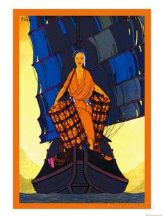China-Cargoes Poster van Frank Mcintosh bij AllPosters.nl