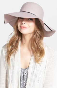 BP. Rope Trim Floppy Felt Hat available at #Nordstrom