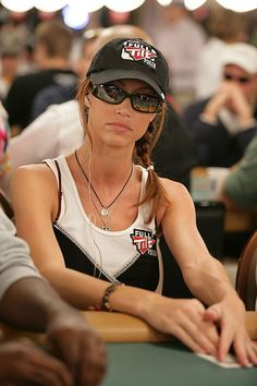Shannon Elizabeth at the World Series of Poker