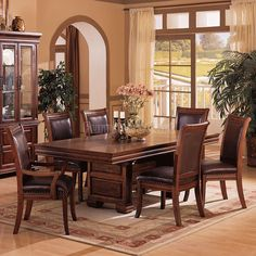 New Leather Nook Dining Set