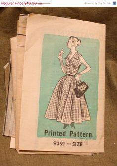40 Off Pattern Sale Marian Martin 9391 by EleanorMeriwether, $9.60