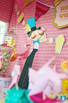 Whimsical Circus Party!!
