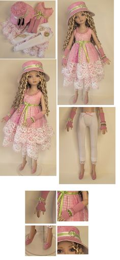 OOAK Ellowyne Wilde doll outfit by Raccoons Rags.