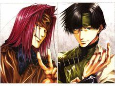 Saiyuki ~~ 8 x 5 :: Hakkai and Gojyo
