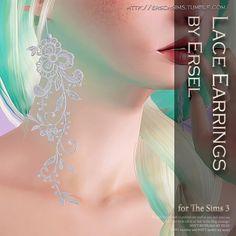 Lace Earrings by Ersel