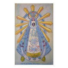Virgen de Lujan Póster