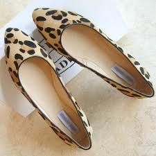 Animal Print  flat pointy shoes