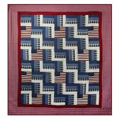online shopping for Gilreath Quilt August Grove from top store. See new offer for Gilreath Quilt August Grove Navy Quilt, Chevron Quilt, Blue Quilts, Star Quilts, Quilt Blocks, Quilt Of Valor, Patriotic Quilts, Quilt Sizes, Cotton Sheet Sets
