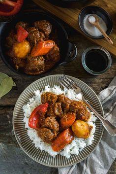 Beef Mechado, Filipi