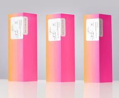 Packaging with contemporary neon ink, traditional typographical detail and sticker for confectionery shop Bermellón designed by Anagrama Tea Packaging, Paper Packaging, Bottle Packaging, Cosmetic Packaging, Beauty Packaging, Brand Packaging, Design Packaging, Pretty Packaging, Packaging Ideas