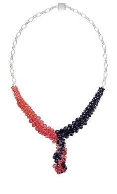 Jewelry Design - Single-Strand Necklace with Swarovski Crystal Beads and Sterling Silver Chain - Fire Mountain Gems and Beads