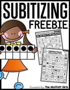 Teachers Discover What is Subitizing and Why Teach it? Teach number sense for Preschool and Kindergarten with these hands-on and fun activities and set a strong foundation for future math fluency! Maths Guidés, Preschool Math, Math Classroom, Teaching Math, Kindergarten Activities, Classroom Ideas, Kindergarten Rocks, Math Tutor, Math Math