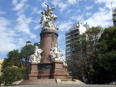 Buenos Aires Plaza Francia