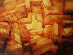 """Jacek Jaroszewski """"Pejzaż dla Johna Coltrana"""",watercolour 2000 (995)"""