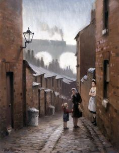 Railway and landscape paintings for sale by artist Rob Rowland GRA Industrial Artwork, Industrial Paintings, Europe Train, Nostalgic Art, Train Art, City Illustration, Fantastic Art, Wonderful Images, Paintings For Sale