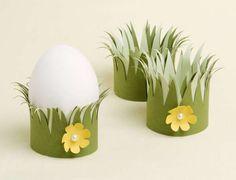 Lavoretti di Pasqua per bambini - Porta uovo per i lavoretti di Pasqua dei bambini