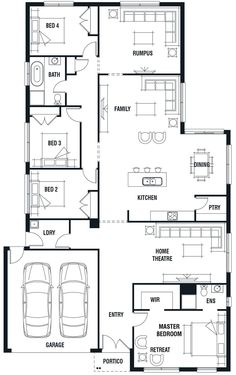 Porter Davis Homes - House Design: Kew