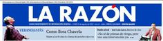 Portada Impresa - La Razón - España - Chavela Vargas
