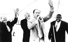 """Give it to me, give it to me, give it to me, give it to me, give me peace…"" (Robert Duvall as Sonny in ""The Apostle"")"