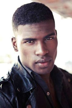 For black men to create various kinds of looks there are many hairstyle options available. Hence, here are some 75 short hairstyles for black men to try in Gorgeous Black Men, Handsome Black Men, Beautiful Men, Black Men Haircuts, Black Men Hairstyles, Black Male Models, Portraits, Fine Men, Trends