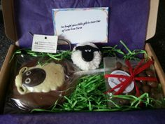 @Christina & Bodkin says thank ewe to @Tina Doshi Bailey for her tasty #Parcelgenie gift