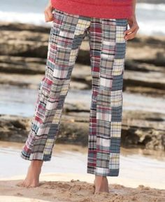 Vineyard Patch Madras Ankle Pant, Small Orvis. $89.00