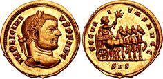 Imperial Rome Licinius I. AD 308-324. AV Aureus (20mm, 5.78 g, 12h). Siscia mint. Struck AD 312-313.