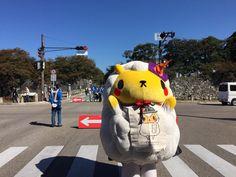 キャッスルロードの端までこれたの!! ξ(*・ω・*)3 #hikone2015 #jingisu_jin