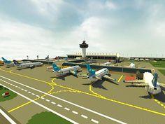 Lapiz Point's International Airport   ECS Minecraft Project