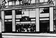 hmv 363 Oxford Street, London - Front of store 1920s