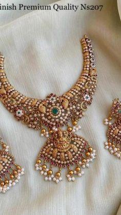 Jewelry Design Earrings, Gold Jewellery Design, Pearl Jewelry, Antique Jewelry, Beaded Jewelry, Silver Jewelry, Necklace Designs, Antique Gold, Diamond Jewelry