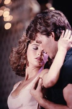 Patrick Swayze and Jennifer Grey. Dirty Dancing (1987).