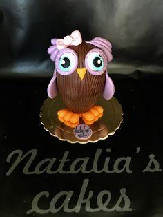 Chocolate Easter egg owl!