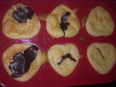heart shaped oat bran muffins dukan