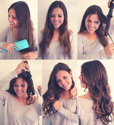 Ondas perfectas en tu cabello con este tutorial http://noviaticacr.com/ondas-perfectas-en-tu-cabello/