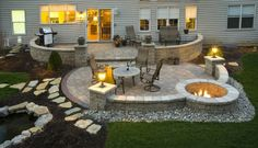 Love this patio !! Get the best concrete contractor through GottaShopIt.com
