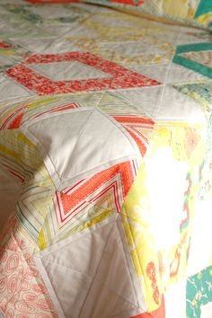 sunrise quilt and cushion cover